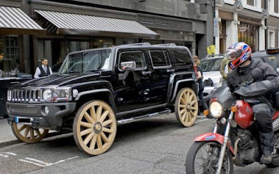 Wagon Wheeled Hummer