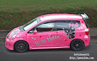 Hello Kitty Devil Car