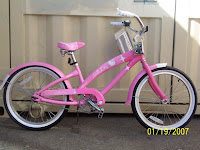 Hello Kitty Beach Cruiser Bike