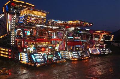 Japanese Decotora Trucks
