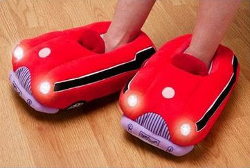 Life Saving Cozy Car Slippers