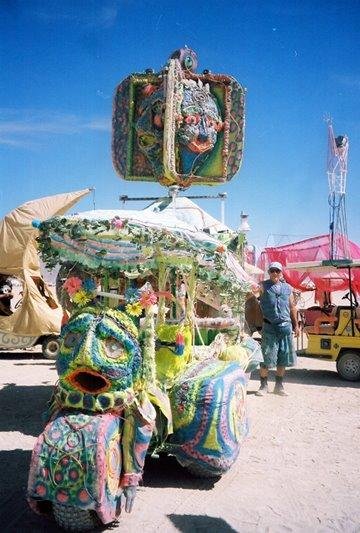 Lunapillar Mutant Vehicle - Human Transport at Maker Faire