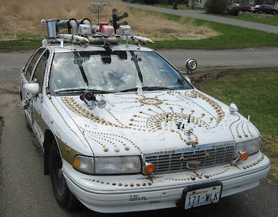 Apocolypticop Art Car Front