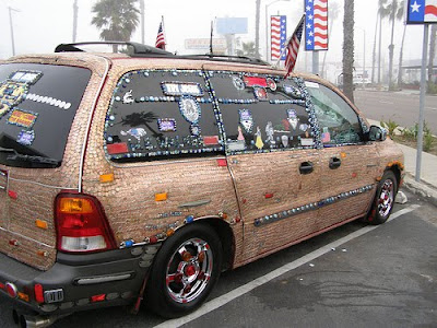 Penny Mini Van Art Car