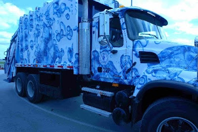 Clean Water Garbage Art Truck