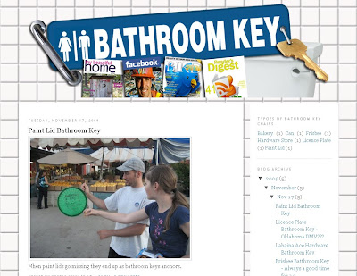 Bathroom Key Blog- Web Design Project
