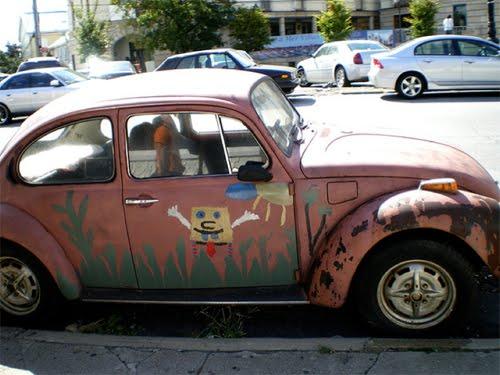 10 Insane SpongeBob Art Cars - Insanity Intervention in the House ...