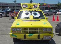 SpongBob Chrystller Art Car