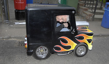 Postman Pat Art Car by Perry Watkins