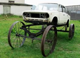 Lada Horse Carriage Salvage Mod - Ideal for the farm