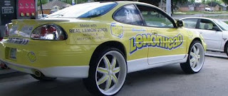 Lemonhead Donk Art Car