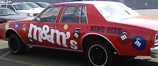 M&M's Donk Art Car
