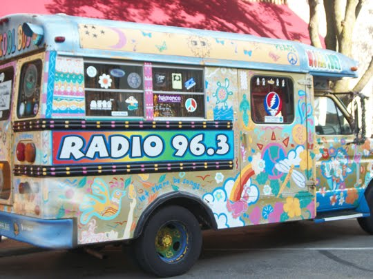 Corporate Hippie Oxymoron Art Bus - By Radio 96.3