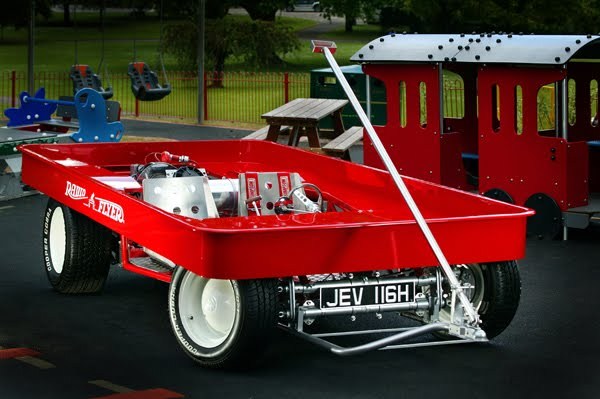 Turbo VW Radio Flyer Art Car