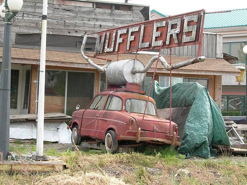 Muffler Art Car