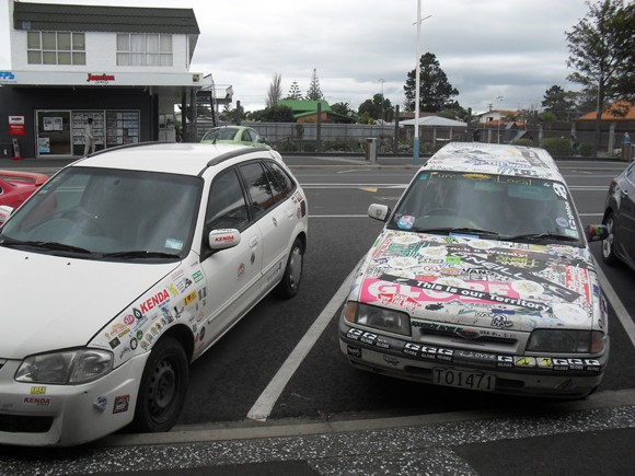Contagious Sticker Art Car Outbreak
