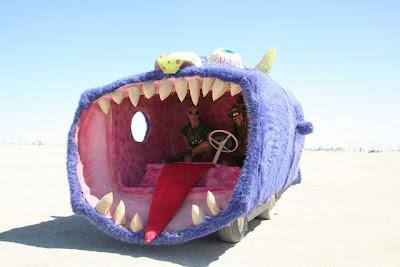 Desert Shark Attack Eats Two For Breakfast - Mutant Mondays