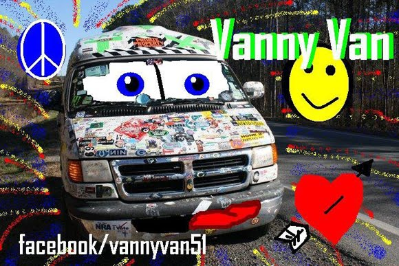 The Strange Story of the Vanny Van Art Car