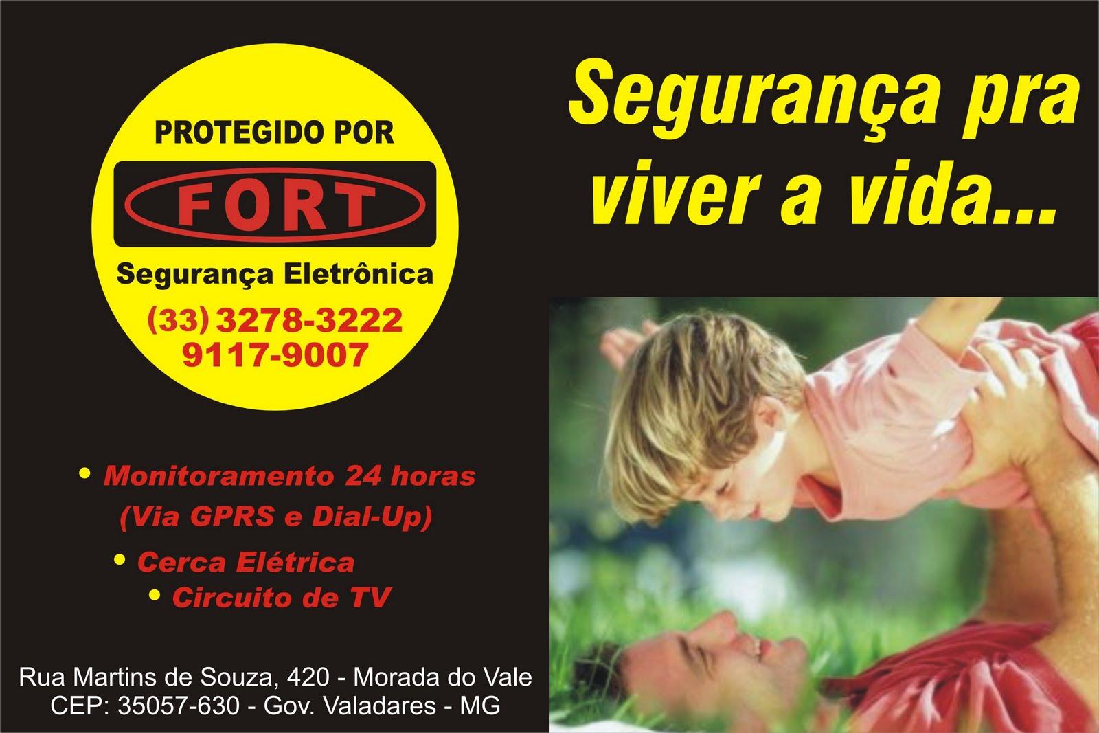 FORT SEGURANÇA ELETRÔNICA - GOV. VALADARES
