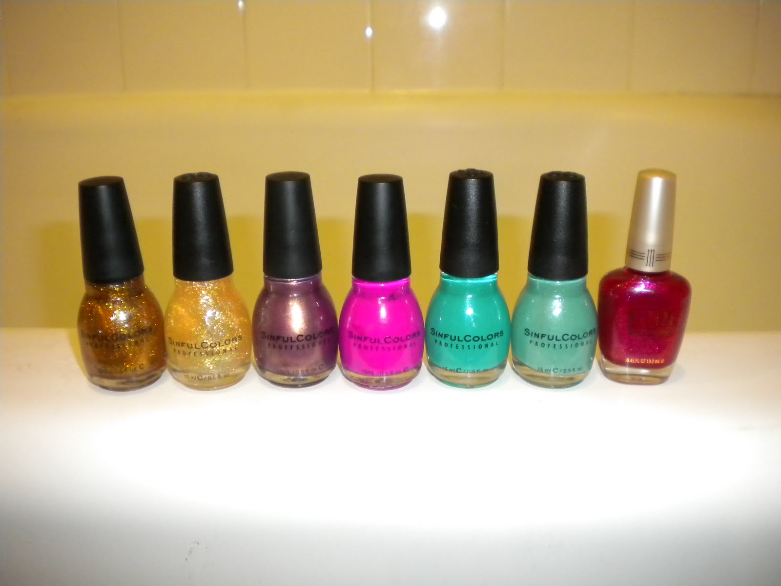 The Polish Studio: Haul: Sinful Colors and Milani