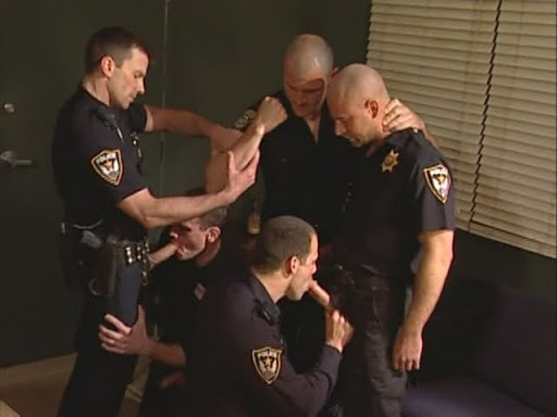 Cop men orgy gay fucking the white officer 9