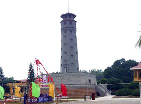 H1: Cột cờ phục dựng mới  khánh thành ngày 19/12/2009