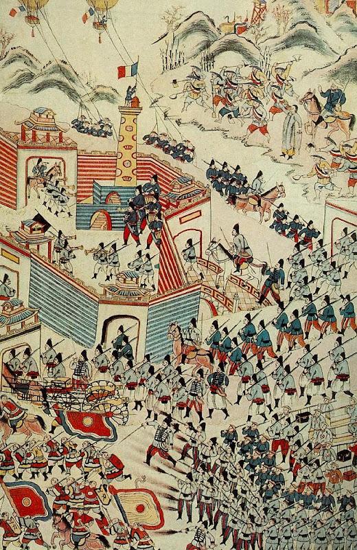 H2: Mô  tả trận Pháp đánh đồn Hưng Hóa của tướng Lưu Vĩnh Phúc (1884)
