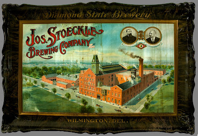 The Joseph Stoeckle Brewing Company operated Wilmington, Delaware's Diamond State Brewery from 1872 to 1955. The brewery, which was once the city's largest, was demolished in 1962 to make way for Interstate 95 through Wilmington.