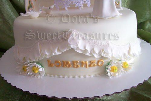 Arte E Zucchero Cake Design By Dora Luca : DORA S SWEETTREASURES: TORTA PRIMA COMUNIONE I