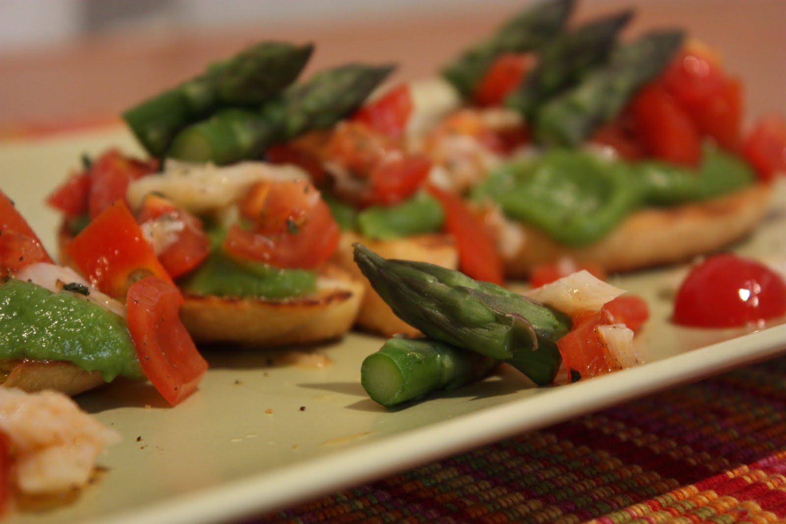 Ildeborino busy bee lunch bruschette con pomodorini for Casa del merluzzo