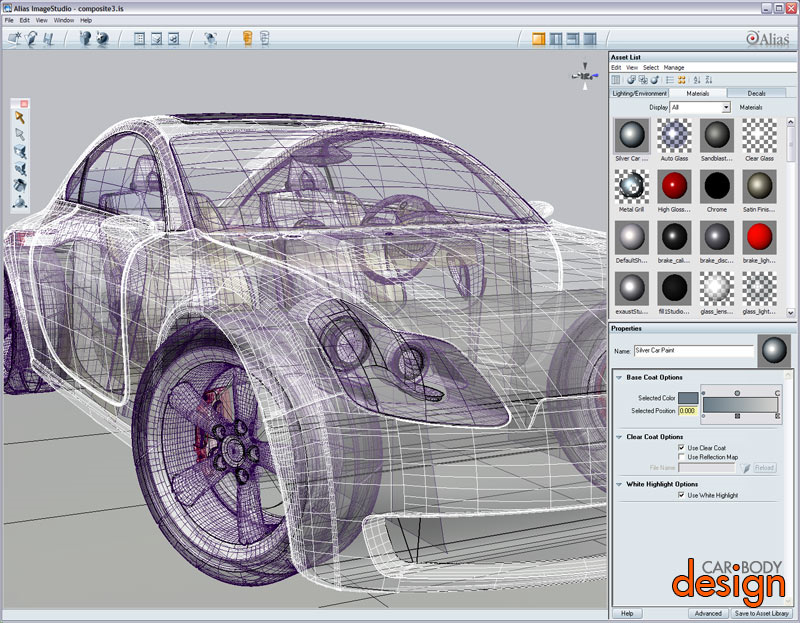 Car design software car body design software car design Free 3d design software online