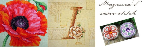 Magnuna's cross stitch
