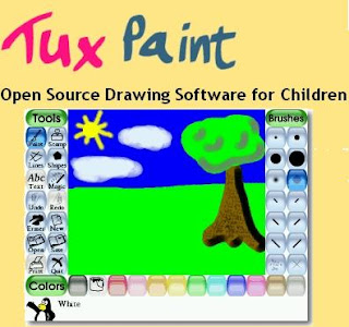 Free drawing software for childrentux paint