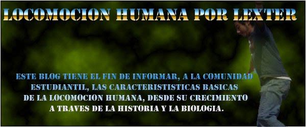 LOCOMOCION HUMANA