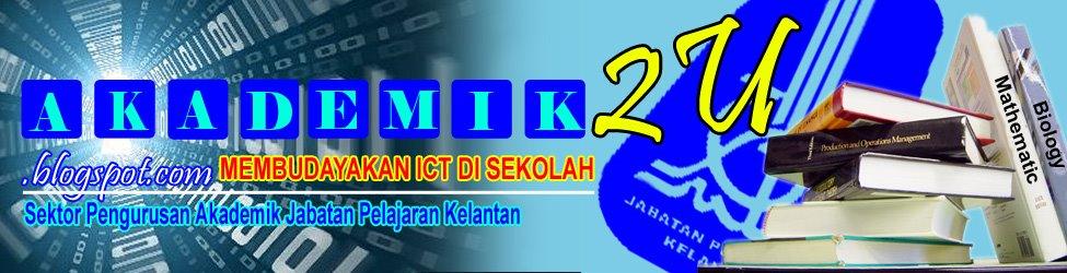 AKADEMIK2U -  Info e-Latihan No. 1 Warga Pendidik Jabatan Pelajaran Kelantan