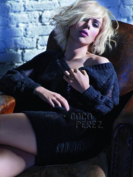 Scarlett Johansson, Mango, A/W 2009, Campanha,