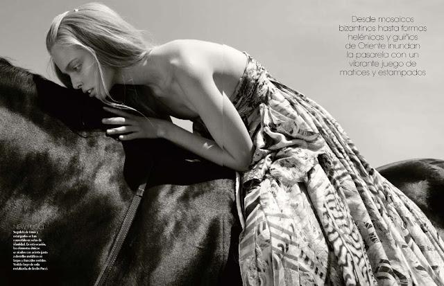 Editorial, Photoshoot, Vogue América Latina, Tanya Dziahileva,