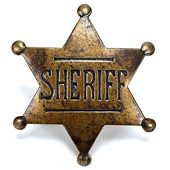 Watch out! Sheriff