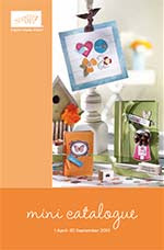 Stampin' Up! Mini Catalogue
