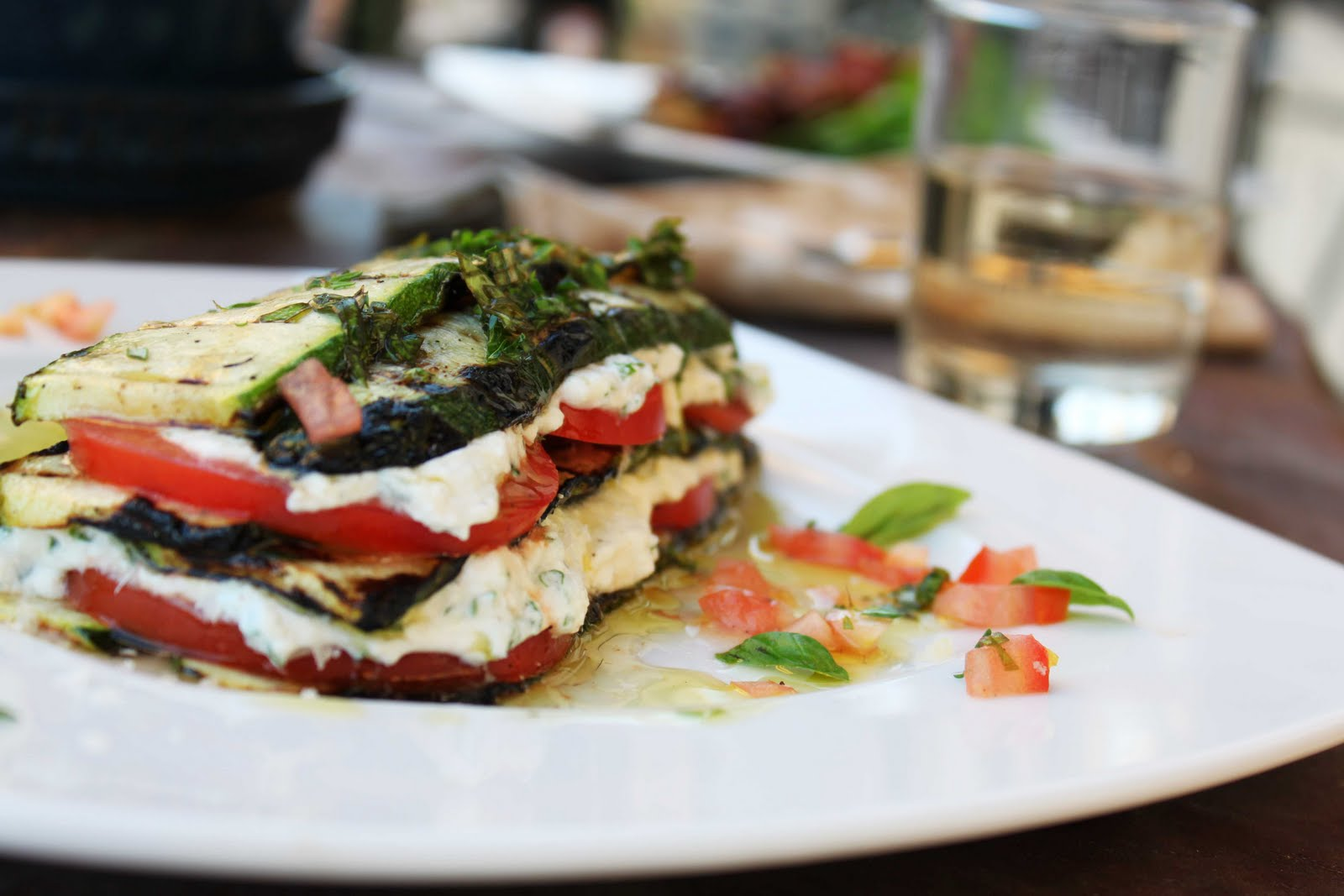 Fat and Happy Blog: Grilled Summer Lasagna