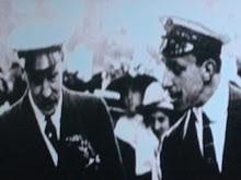 Alfonso XIII y Manuel Fernández Silvestre