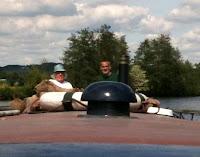 Ken steering upstream