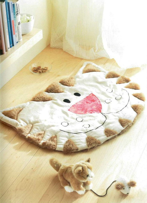 Подушки коврики своими руками выкройки фото схемы 63
