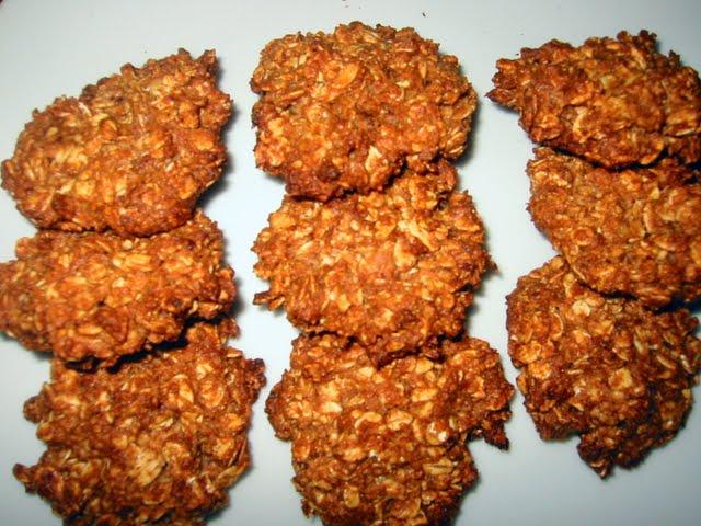 Eggless Oats-Barley-Date Cookies