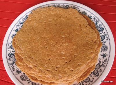 Ragi Uthappam
