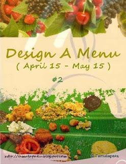 Design a menu - 2