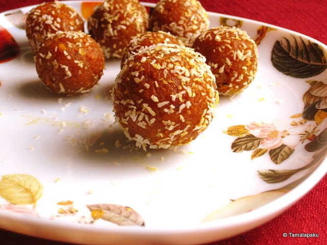 Sweet Potato Laddu