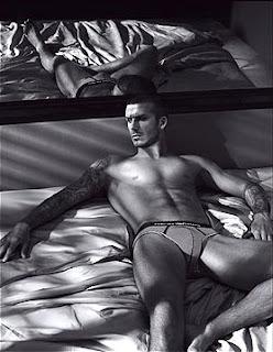 David Beckham Emporio Armani underwear