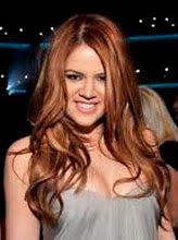 Khloe Kardashian Red Hair