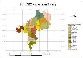 Peta Kecamatan Talang